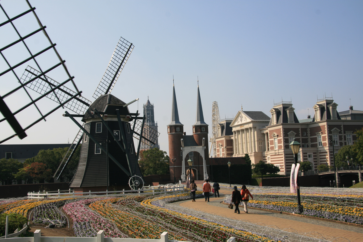 The Original Huis Ten Bosch Palace In The Netherlands U2013 The Japanese Theme  Park Recreates The