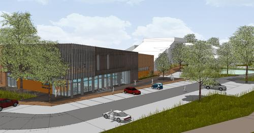 Build work on the Pozzoni Architects-designed leisure centre is set to start on 9 February