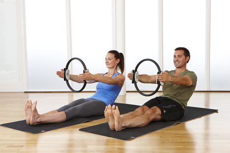 Many mat and reformer classes now see a 50:50 split between men and women / Photo: body control pilates