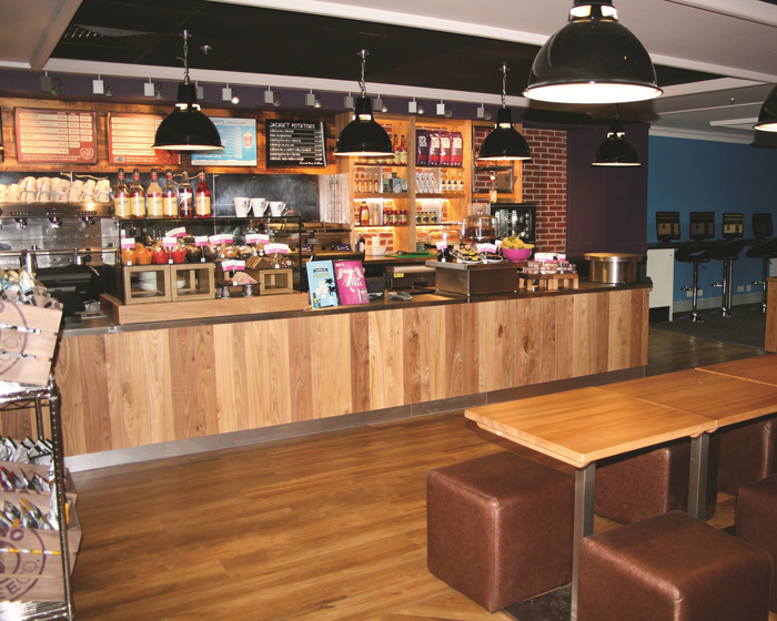 Total Fitness ups café offering