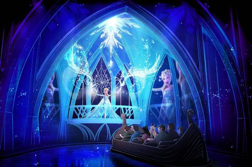 The new ride, which will replace Epcot's 27-year-old Maelstrom attraction, has been titled 'Frozen Ever After' / Disney