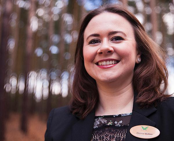 Donna McKee is spa manager at Woburn Forest