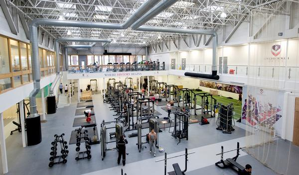 Elite athletes will have access to the high performance gym