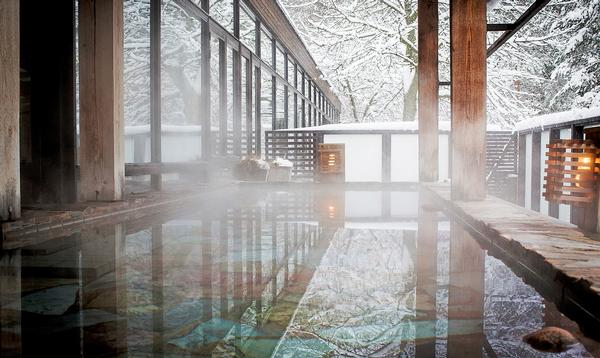Warm bathing lies at the heart of the Yasuragi spa experience