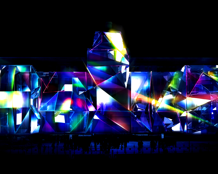 Danny Rose offers inspiring installation of sound and colour at Vivid Sydney