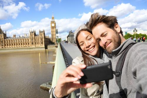 London is the selfie capital of the world