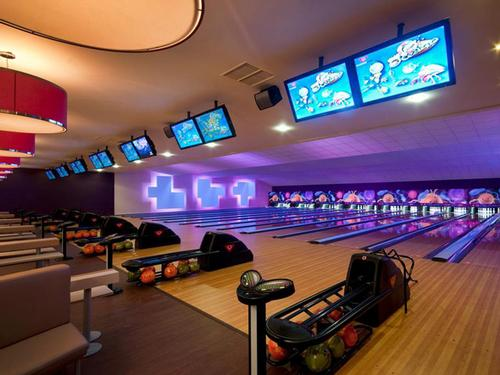 The 10-pin bowling addition is expected to look similar to this recent installation in Slough
