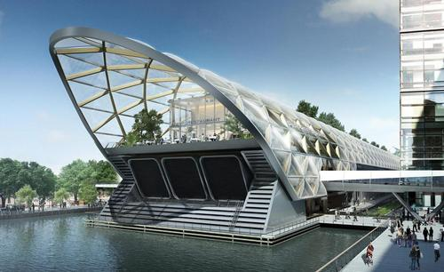 The first phase of the project is expected to be open in May 2015 / Foster + Partners