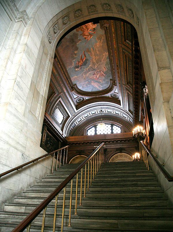 The public areas at New York Public Library's Stephen A. Schwarzman Building will be expanded, Interior / PHOTO: © Vincent Desjardins