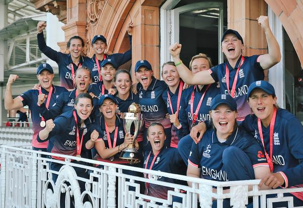 The England Women's Cricket Team won the world cup in 2017, inspiring new fans