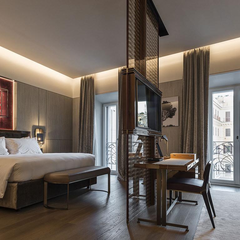 Italian Fashion Brand Fendi Opens Luxury Hotel In Centre