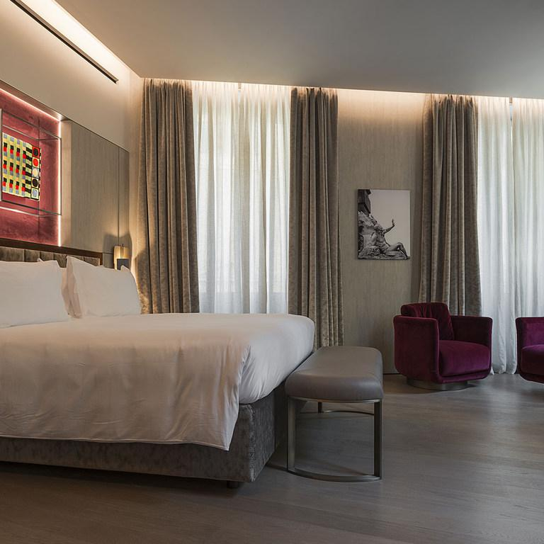 The design is by the company's furniture and interiors branch Fendi Casa / Fendi