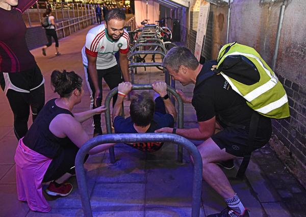 StreetGym encourages people to develop mental toughness