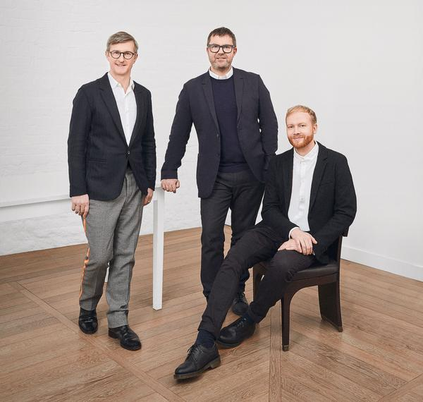 Iain Watson, Simon Rawlings and Lewis Taylor