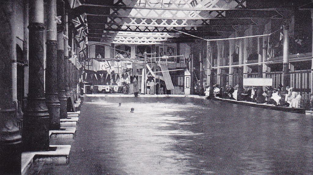 The White Rock Baths building was a popular tourist destination for Victorians when it opened in the 1870s / Phil Sellens