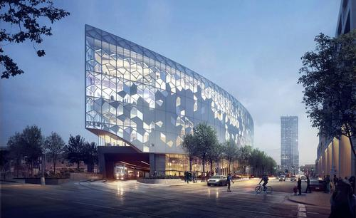 Snøhetta reveal designs for Calgary Library, Canada