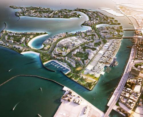 Deira Islands is a waterfront entertainment, tourist and residential destination  / Avani