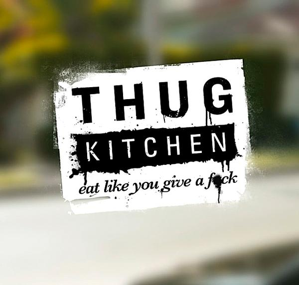 The couple behind vegan diet blog Thug Kitchen gave the brand a 'sweary aggressive' makeover