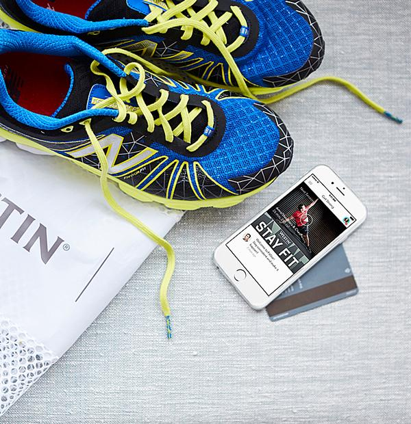 Westin worked with New Balance on a fitness 'gear lending' programme