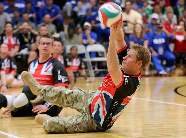 Prince Harry was inspired to create the Invictus Games following a visit to a similar competition in the US