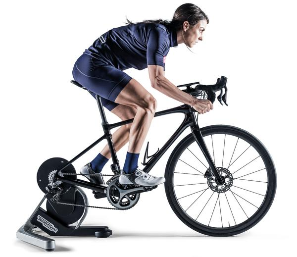 MyCycling combines a high-tech smart trainer with an app for personalised training
