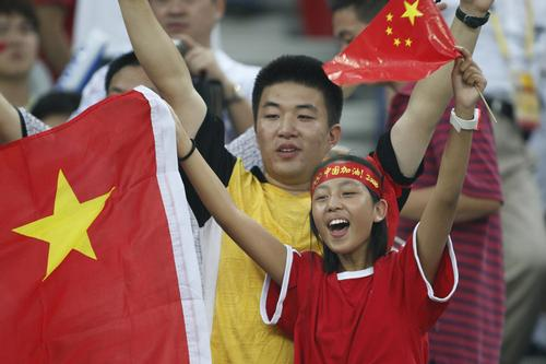 Football is experiencing a surge in popularity among the Chinese