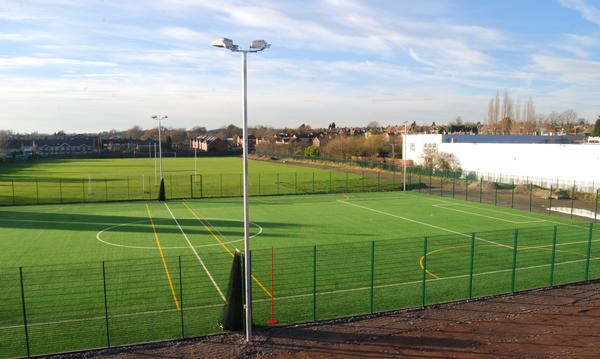 O'Brien sports pitch and lighting