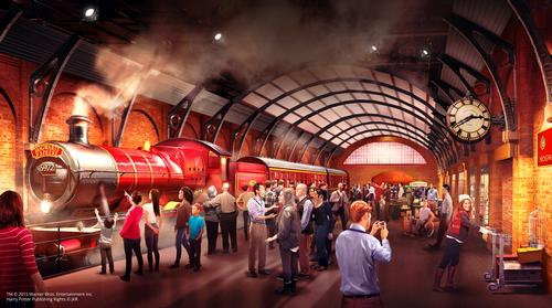 Hogwarts Express coming to Harry Potter studio tour