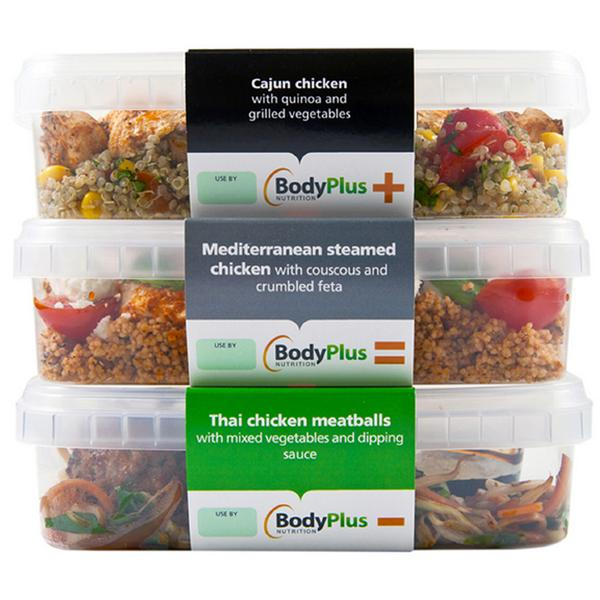 Fresh meals for members by Body Plus Nutrition