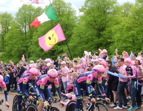 The BIg Start of the annual Giro d'Italia was held in Northern Ireland in 2014