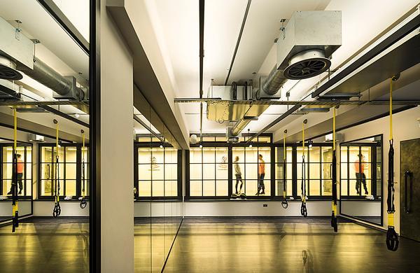 WG+P also designed Core Collective's Kensington gym