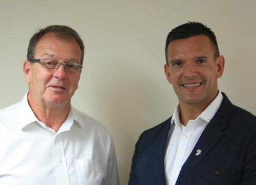 Nick Startin (left) and Mark Gregory are welcome additions to the Keiser UK team