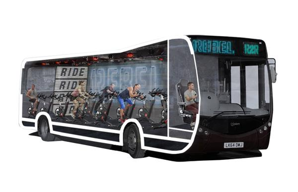 The 1Rebel bus: Active commuting, without the dangers of road cycling