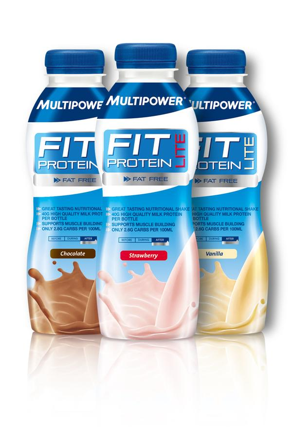 Multipower Sportsfood's light protein drink
