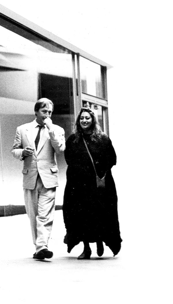 Holl was a close friend of  Zaha Hadid