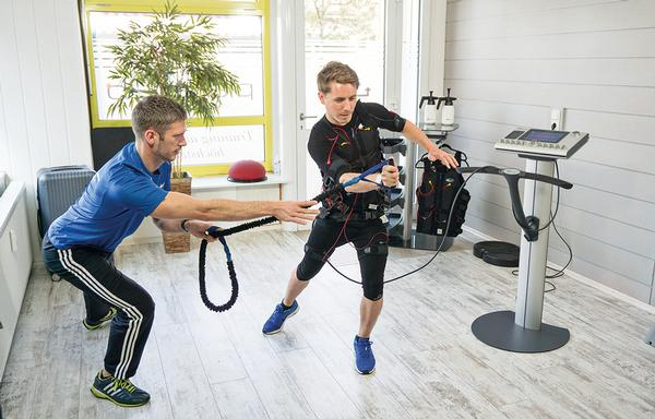 Athletes are using EMS, from companies like miha, to enhance training
