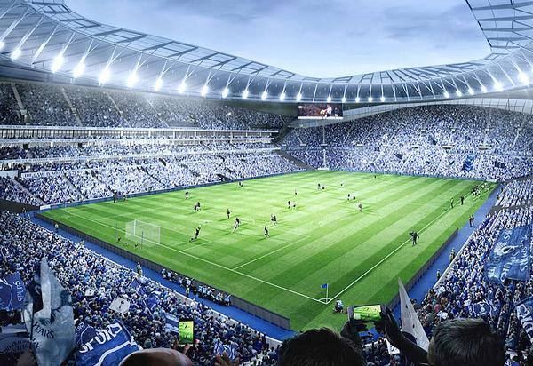 Spurs' new White Hart Lane stadium will offer a complete leisure experience