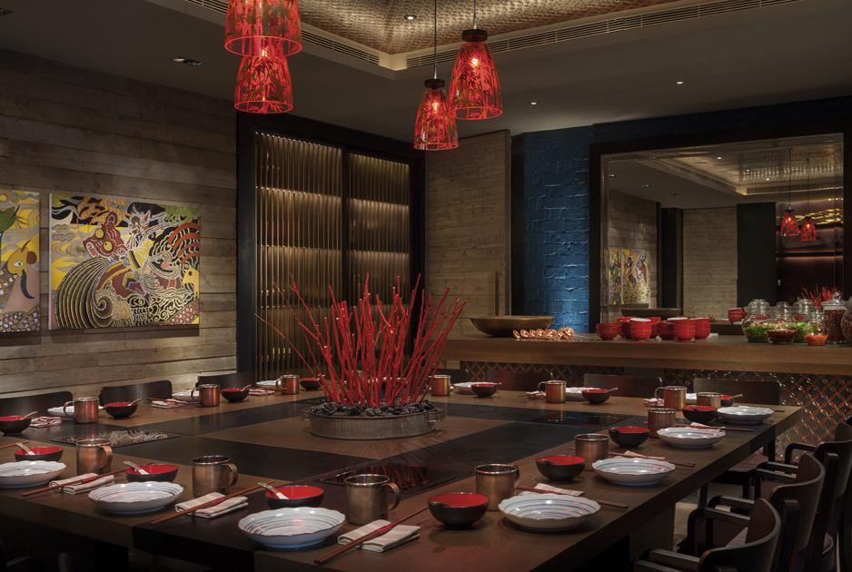 the rosewood beijing also won in the restaurant category for the red bowl designed by