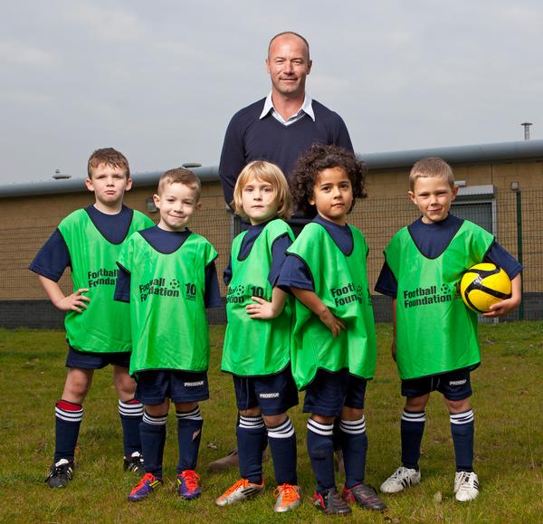 A number of former players act as ambassadors to the foundation – such as England star Alan Shearer