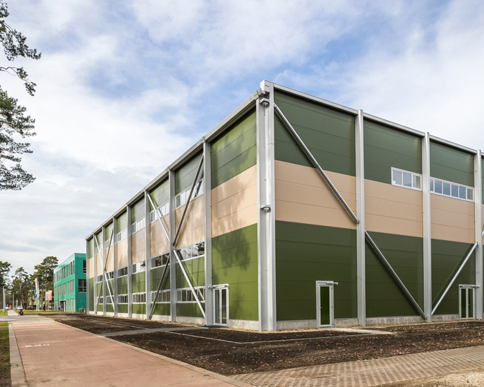 Neptunus creates sports hall for the Dutch Judo Association