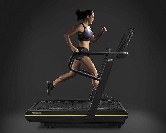 The SkillRun is the first treadmill to offer both cardio and power training options