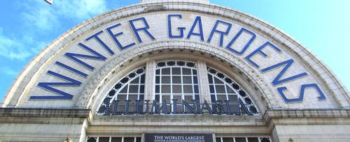 Much of the Grade II Listed Winter Gardens has fallen into a state of disrepair