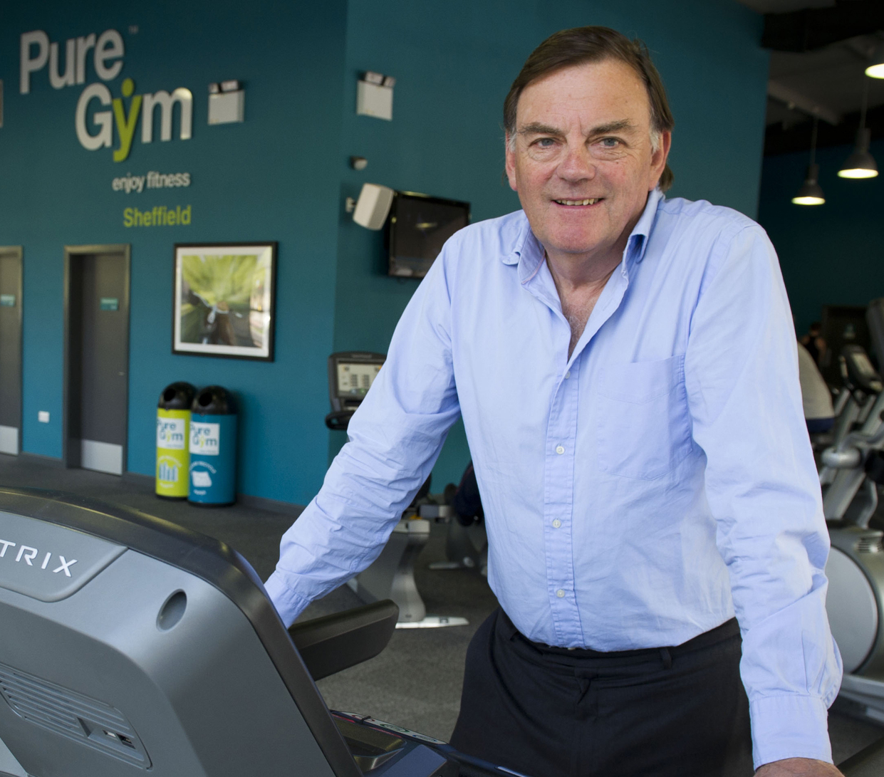 Pure Gym founder and CEO Peter Roberts is undeterred by the setback