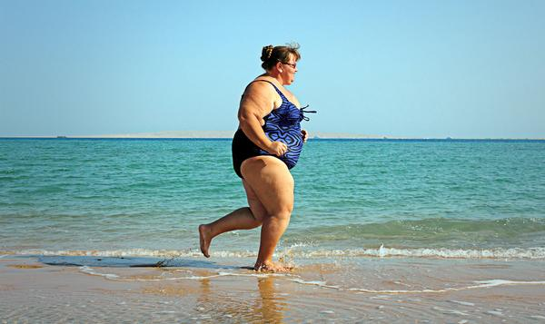 Obese people believed an object 25m away was actually 30m away / shutterstock