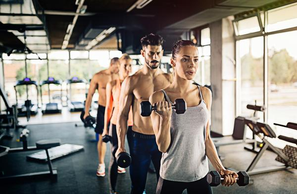Gyms could partner with DNA experts to create 'test and prescribe' programming / Shutterstock.com
