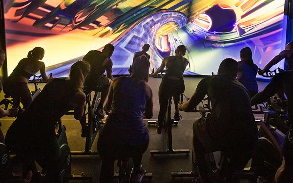 Les Mills Jnr, has developed Millennial programming such as the immersive bike workout experience