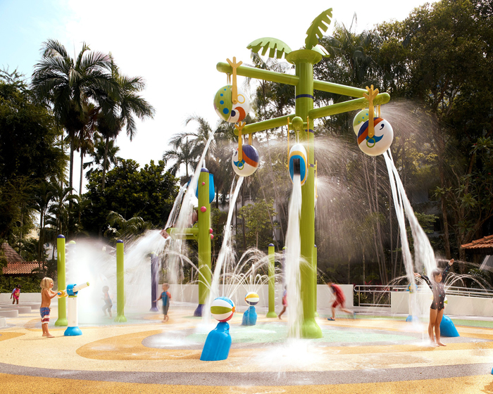 Empex Watertoys partners with Singapore architecture firm on new splash park