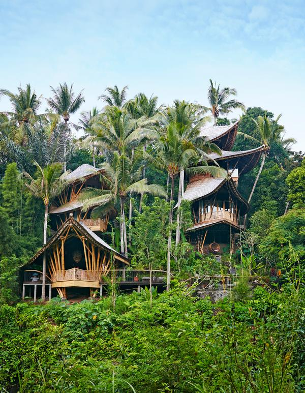 Ananda House at the Green Village, Bali is a magical and whimsical construction