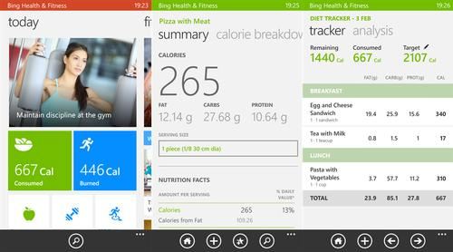 Microsoft launches fitness app for Windows Phone