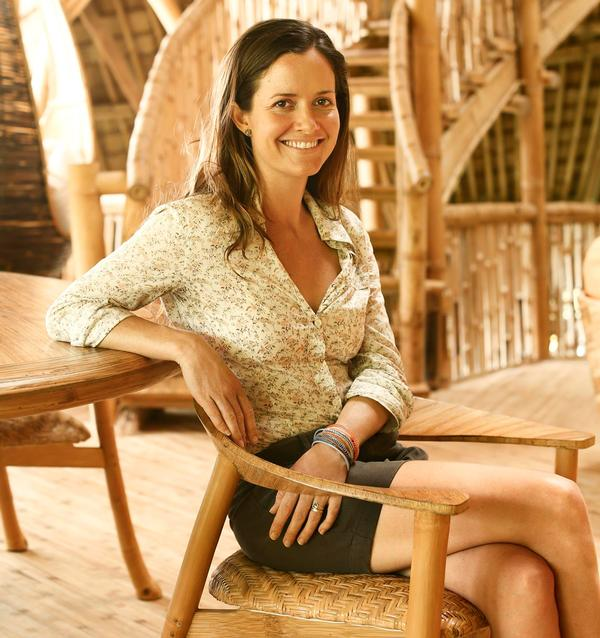 Elora Hardy's Ibuku specialises in bamboo construction / PHOTO: Manuel Gomes da Costa
